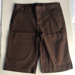 Calvin Klein Jeans brown bermuda shorts